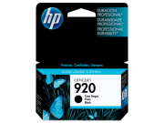 CARTUCHO HP 920 CD971AL PRETO