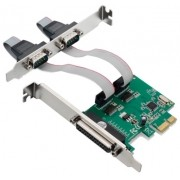 PLACA PL PCI-EXP 2P 2SERIAL 1P PARALELA MULTILASER GA128