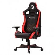 Cadeira Gamer BlueCase Orions, Vermelho e Preto - BCH-36RBK