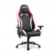 Cadeira Gamer PCTOP Premium Vermelho/Branco/Preto - 1020