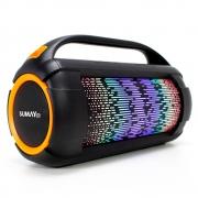 Caixa de Som Portátil Sumay com Bluetooth, 60W RMS, FM, Led - SM-SCP1305