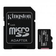 Cartão de Memoria Kingston 16GB Classe 10 Micro SDHC + Adaptador - SDCS2/16GB
