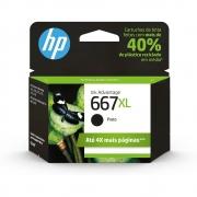Cartucho HP 667XL Preto 3YM81AB