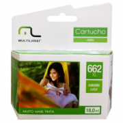 CARTUCHO MULTILASER 662 XL 18ML COLOR