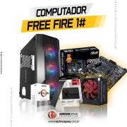Computador Gamer Free Fire 1#, Athlon 3000G 3.5GHz, 8GB DDR4, SSD 240GB