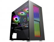 Computador Gamer, Intel 10º geração Core i5-10400F, Placa de Vídeo GTX-1650 4GB, 8GB DDR4, SSD 256GB