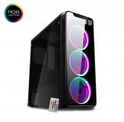 Computador Gamer, RYZEN 5 3400G, Placas de Vídeo RX 570 4GB, Memoria 8GB DDR4, HD 1TB