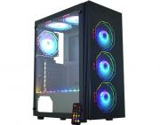 Computador Gamer, RYZEN 5 3600X 3.8GHz, Placas de Vídeo GTX-1650 4GB DDR6, 8GB DDR4, SSD 240GB