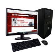 "COMPUTADOR INTEL PENTIUM GOLD HD 500GB 4GB + MONITOR 19,5"" TECLADO E MOUSE"