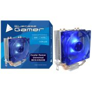 Cooler Gamer Universal Alumínio e Cobre com LED Azul, BLUE CASE BCG-03UCB CASE