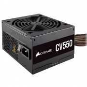 Fonte Corsair CV550, 550W, 80 Plus Bronze - CP-9020210-BR