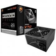 Fonte Cougar VTC500 500W 80 Plus White - CGR BC-500
