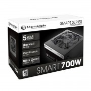 Fonte Thermaltake Smart Series 700W PS-SPD-0700P PFC Ativo Cabos Flat