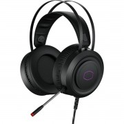 Headset Gamer Cooler Master, USB, RGB, Drivers 50mm, Preto - CH-321