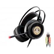 Headset Gamer K-Mex AR50 Bope1 RGB Stereo