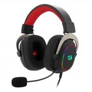 Headset Gamer Redragon Zeus X, USB, 7.1 Surround, RGB, Preto - H510-RGB