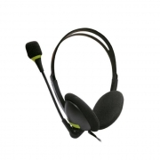 Headset Hayom c/ Microfone, P2, Preto - HF2212