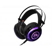 Headset K-MEX Gamer ARS9, c/ microfone, RGB, Preto - ARS900S21PPB1X