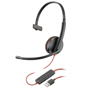 Headset Plantronics Blackwire C3210, USB