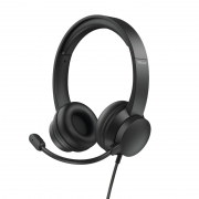 Headset Trust HS-200, On-Ear, USB, Preto - 24186