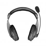 Headset Trust Quasar, 40mm, Com Microfone Flexível, Preto - 21661