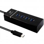 Hub USB C3Tech, 4 Portas, USB 3.0 - HU-C300BK