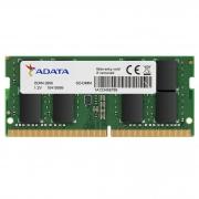Memória para Notebook Adata, 16GB, 2666MHz, DDR4, CL19 - AD4S266616G19-SGN