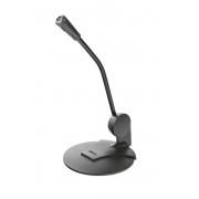 Microfone Trust Primo para PC, Conexão 3.5mm, com Cabo de 1.8m e Plug and Play, Preto - 21674