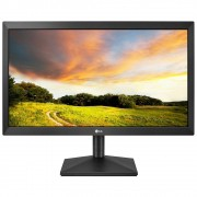 """Monitor LG LED 19.5"""", HDMI/VGA, 2ms, Ajuste de Inclinação - 20MK400H-B"""