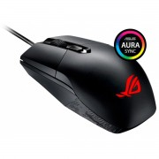 Mouse Gamer Asus Rog Strix Impact, Botão DPI, 5000 DPI, RGB, Preto - P303