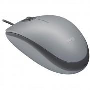 Mouse Logitech M110 com Clique Silencioso Cinza - 910-005494