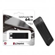 Pen Drive 64GB Kingston Datatraveler 70 Gen 1 USB-C 3.2 - DT70-64GB