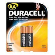 Pilha Alcalina Aa Duracell 1,5V Mn1500 C/2 Unidades