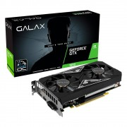 Placa de Vídeo Galax NVIDIA GeForce GTX 1650 EX Plus (1-Click OC), 4GB, GDDR6 - 65SQL8DS93E1