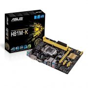 Placa Mae Asus, H81M-K, DDR3, Socket LGA1150, Chipset Intel H81