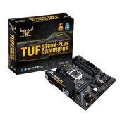 Placa Mãe ASUS TUF B360M-PLUS GAMING/BR, LGA 1151, mATX, DDR4
