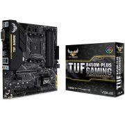 Placa Mãe Asus TUF B450M-Plus Gaming, AMD AM4, mATX, DDR4