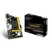 Placa Mãe Biostar B350M, AM4, HDMI, N Series