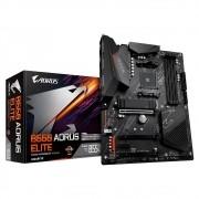 Placa Mãe Gigabyte B550 Aorus Elite, AMD AM4, ATX, DDR4