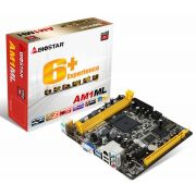 Placa Mãe MB Biostar AM1ML, AMD AM1, mATX, DDR3