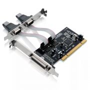 PLACA PCI 2P 2SERIAL 1P PARALELA MULTILASER GA129