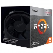 Processador AMD Ryzen 5 3400G, Cache 6MB, 3.7GHz (4.2GHz Max Turbo), AM4 - YD3400C5FHBOX
