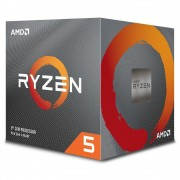 Processador AMD Ryzen 5 3600X Cache 32MB 3.8GHz (4.4GHz Max Turbo) AM4, Sem Vídeo - 100-100000022BOX