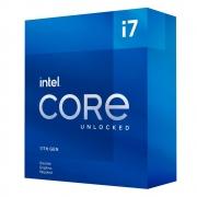 Processador Intel Core i7-11700KF 11ª Geração, Cache 16MB, 3.6 GHz (4.9GHz Turbo), LGA1200 - BX8070811700KF