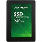 SSD Hikvision C100, 240GB, Sata III, Leitura 550MBs e Gravação 450MBs, HS-SSD-C100/240G