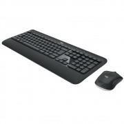 Teclado e Mouse Logitech MK540 Advanced Sem Fio Multimídia Tecnologia Unifying Cinza ABNT2 - 920-008674