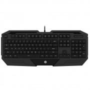 Teclado Gamer HP, ABNT2 - K130