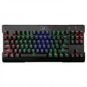 Teclado Mecânico Gamer Redragon Visnu, Rainbow, Switch Outemu Azul, K561R-1 PT