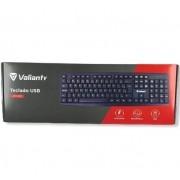 Teclado Valianty, USB, ABNT2 - KM-101