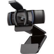 WebCam Logitech C920 s Pro Full HD para Chamadas e Gravações 1080p, Áudio Estéreo com Microfones Duplos - 960-001257